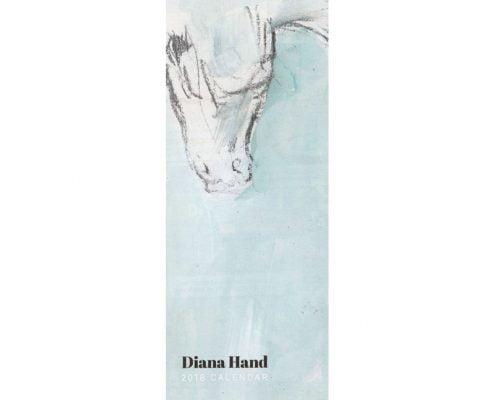 Diana Hand slimline equestrian calendar abstract cover