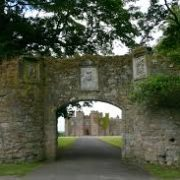 Gateway to Scone Palace Perth