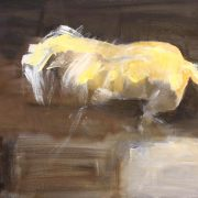 Abstract Horse oil on canvas