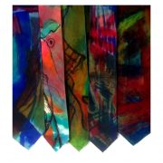 WP ties hand painted silk 3