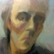 Alan McGowan class painting by Diana Hand