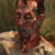 Alan McGowan oil portrait study