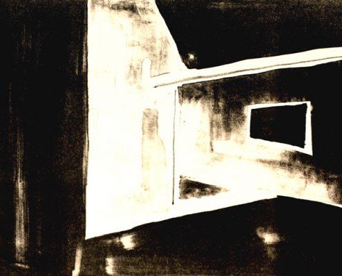 Printmaking Scion The Dark Corner