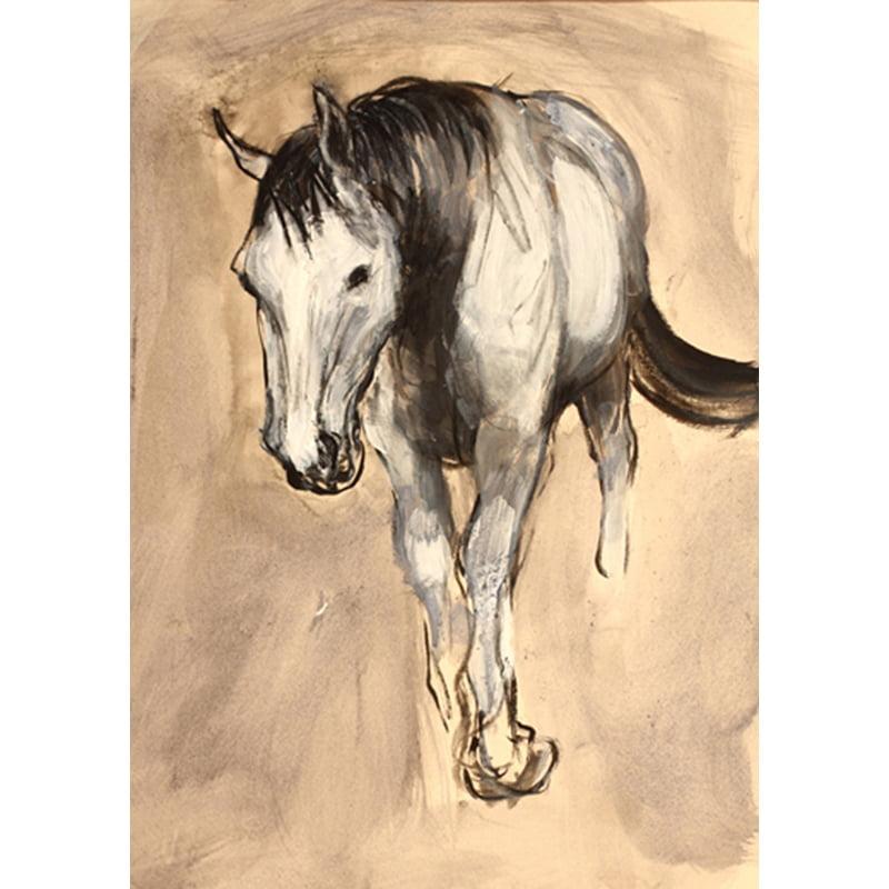 Advancing Horse