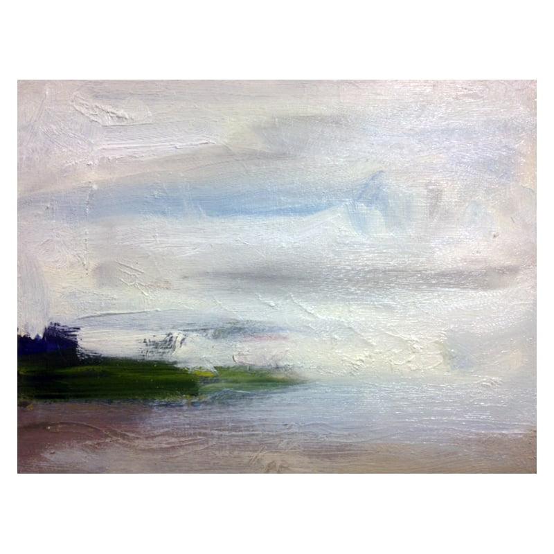 Slaidburn 12.oil paint on card