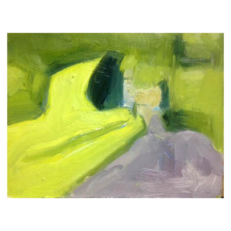 Slaidburn 15 smal oil painting on card