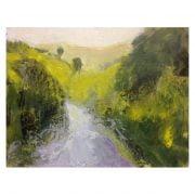 Slaidburn 22 oil painting on card