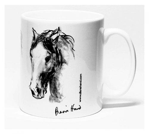 Ceramic mug Expressive Head