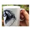 Diana Hand stallion ceramic mug