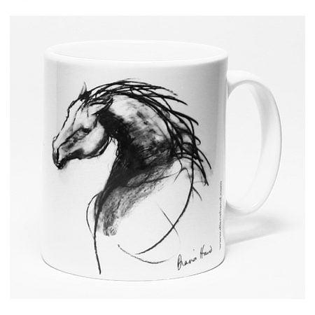 ceramic mug the stallion
