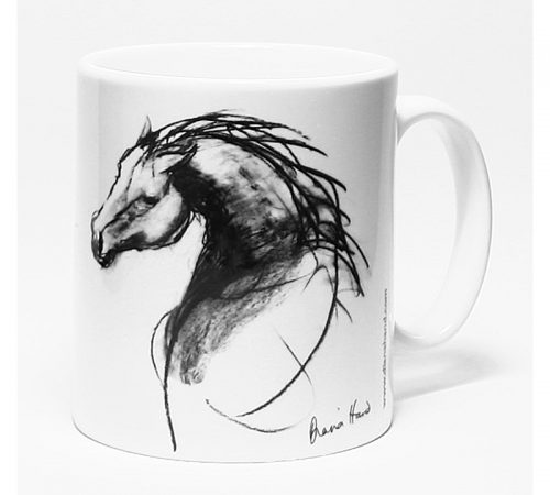 ceramic mug the stallion