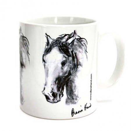 Diana Hand horse mug