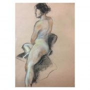 WP figure drawing on paper