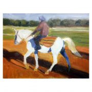 WP oil painting of horses