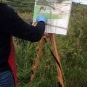 Martin Campos plein air painting