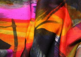 Textiles silk painting 1