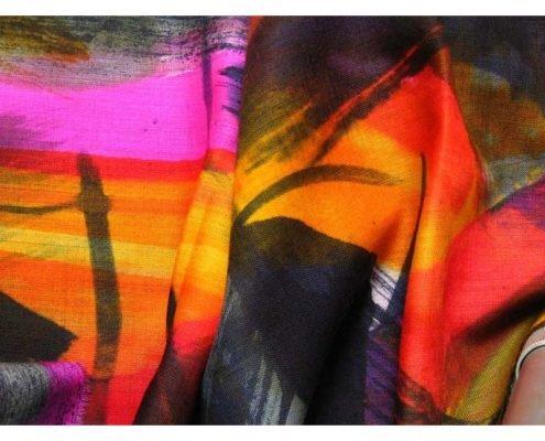 Textiles silk painting 1