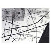 Berlin winter Stone lithograph print
