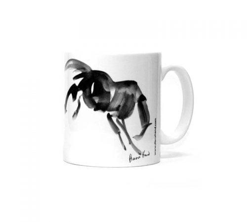 Bucking Horse mug Diana Hand