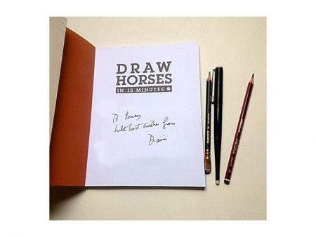 dianahand how to draw horses book