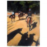 Oil painting study Newmarket