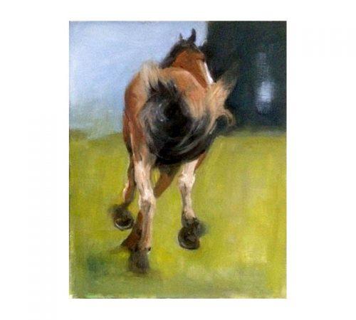 Melanie oil on canvas Diana Hand