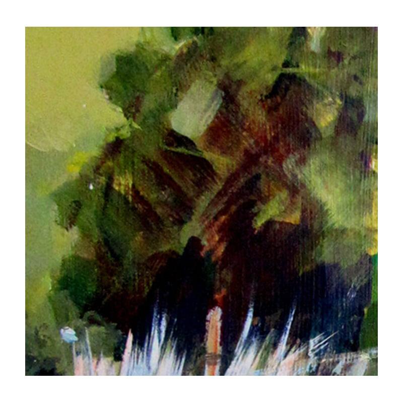 POLDAR GARDEN detail painting Diana Hand