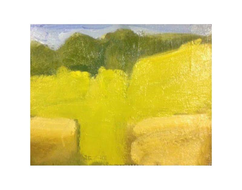 Diana Hand Slaidburn 13 oil on card