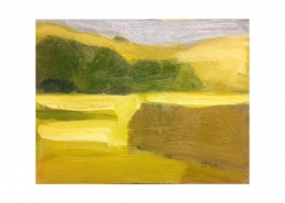 Diana Hand Slaidburn 14 oil on card