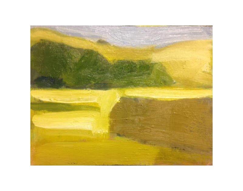 Diana Hand Slaidburn 14 oil on card