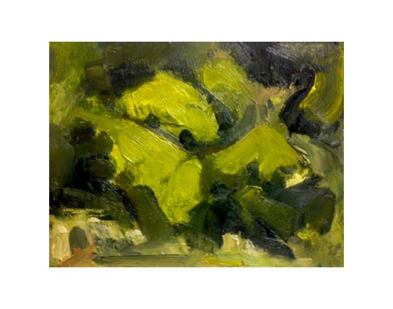 Diana Hand Slaidburn 16 oil on card