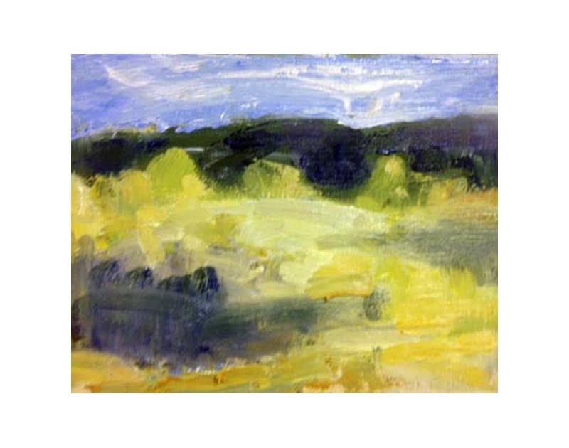 Diana Hand Slaidburn 18 oil on card