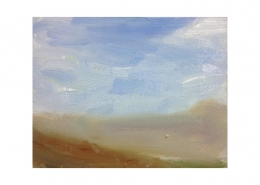 Diana Hand Slaidburn 21 oil on card