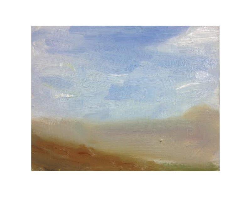 Diana Hand Slaidburn 21 oil on card