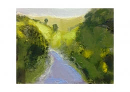Diana Hand Slaidburn 22 oil on card