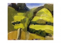 Diana Hand Slaidburn 23 oil on card