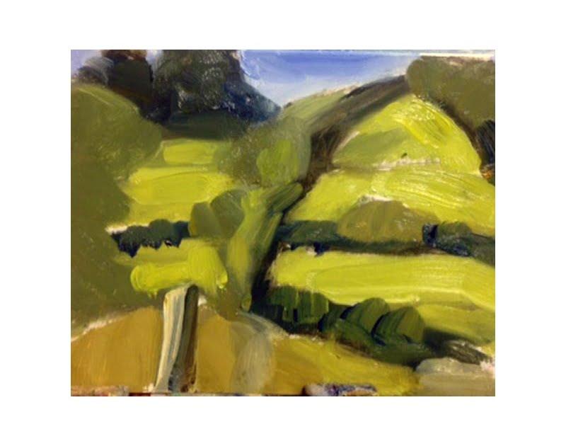 Diana Hand Slaidburn 23 oil on card