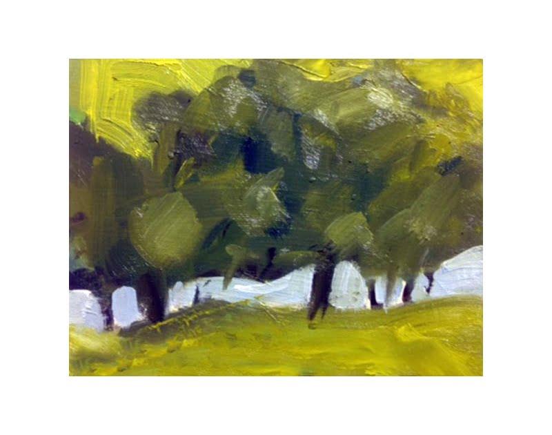 Diana Hand Slaidburn 24 oil on card