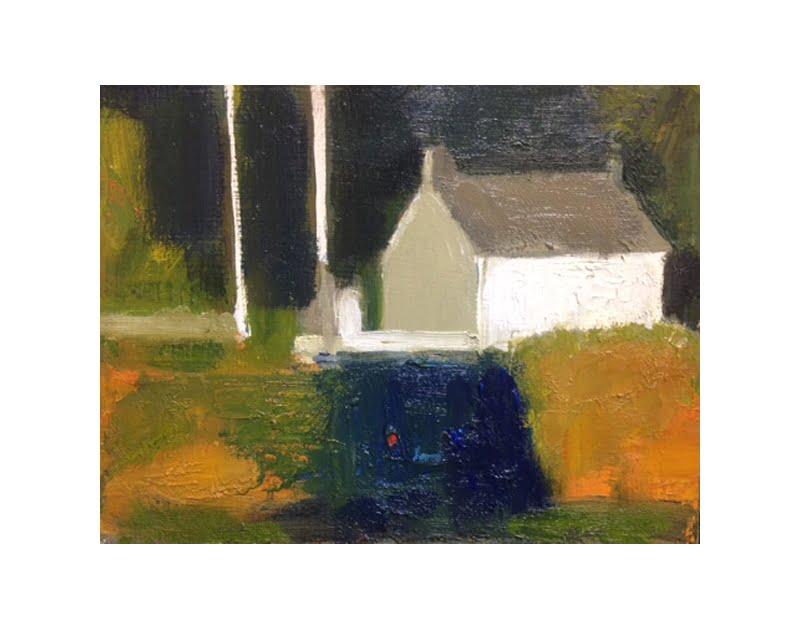 Diana Hand Slaidburn 3 oil on card