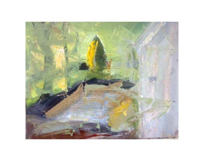 Diana Hand Slaidburn 33 oil on card