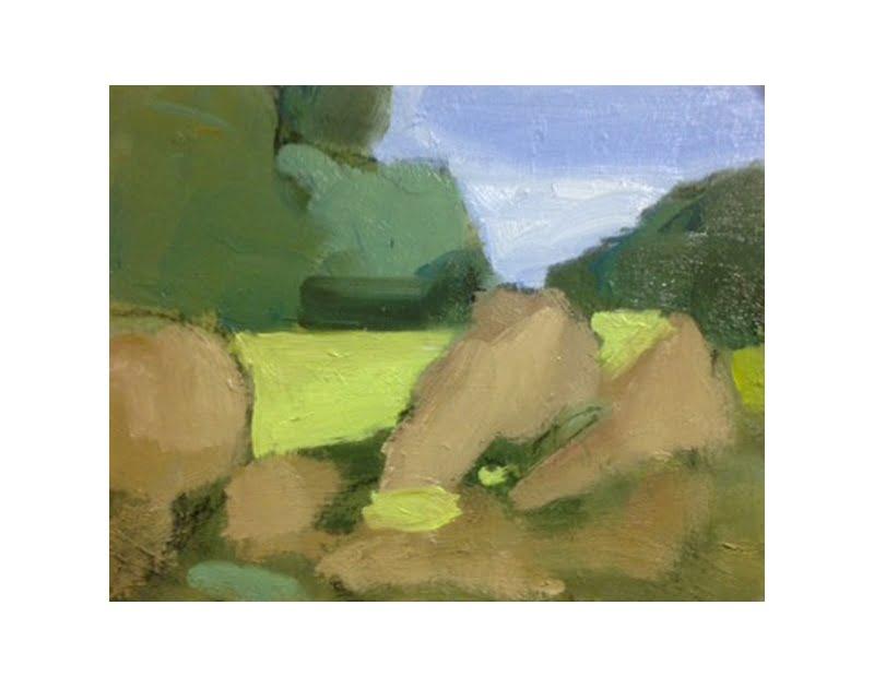 Diana Hand Slaidburn 5 oil on card