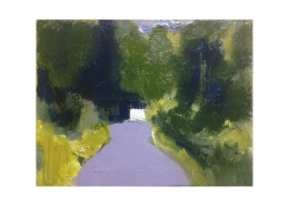 Diana Hand Slaidburn 9 oil on card