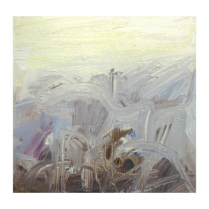 Christmas Eve 7 oil sketch by Diana Hand Flanders Moss