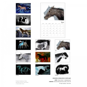 Diana Hand calendar 2020 index