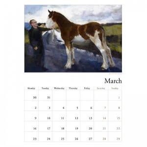 Diana Hand calendar 2020 March