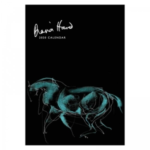 Diana Hand calendar 2020 Horse in Blue cover