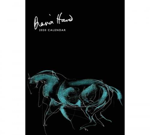 Diana Hand calendar 2020 Horse in Blue cover