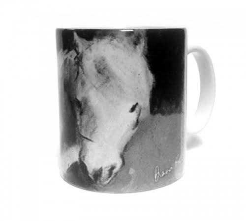 Rosie the Shetland pony mug by Diana Hand
