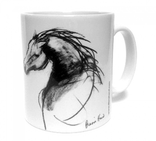 Stallion mug by Diana Hand